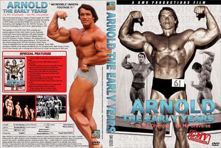 Arnold Schwarzenegger younger years